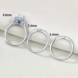 Jewelry - 3 Pcs Sterling Silver Ring
